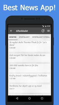 News Sweden screenshot 1