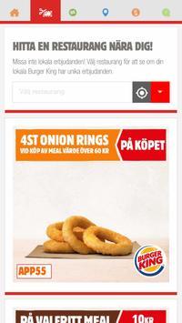 Burger King® Sverige screenshot 1