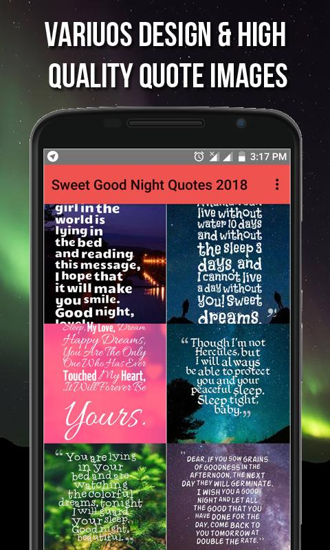 Sweet Good Night Quotes 2018 for Android - APK Download