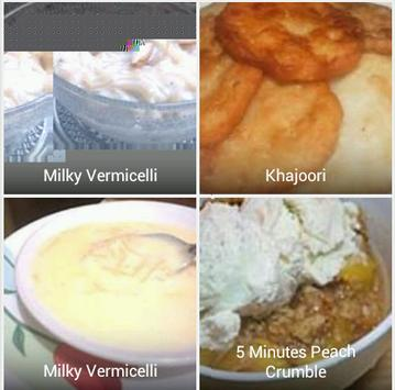 Sweet Dish Recipes apk screenshot