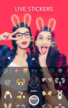 Sweet Face Camera - live filter,Selfie photo edit 截图 1