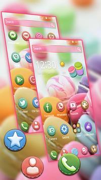 Sugary Macarons 2d Theme (free) screenshot 1