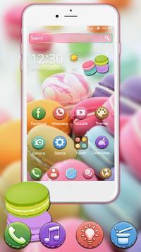 Sugary Macarons 2d Theme (free) screenshot 2