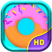 Sweet Donut Live Wallpaper icon