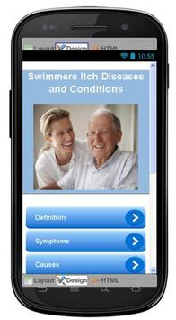 Swimmers Itch Information poster