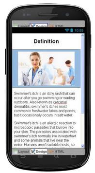 Swimmers Itch Information screenshot 1