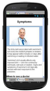 Swimmers Itch Information screenshot 2