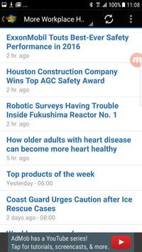 Workplace Health News screenshot 1