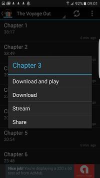 Virginia Woolf Audiobooks apk screenshot