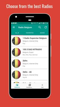 📻 Belgium Radio Stations poster