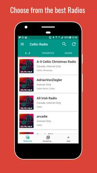 Celtic Folk Radio Stations poster
