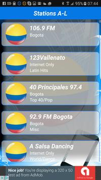Colombia Radio Stations 🇨🇴📻 screenshot 2