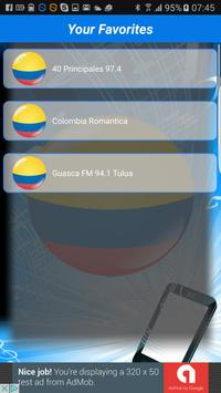 Colombia Radio Stations apk screenshot