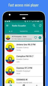 3 Schermata Ecuador Radio Stations