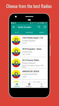 Ecuador Radio Stations पोस्टर