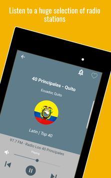 10 Schermata Ecuador Radio Stations