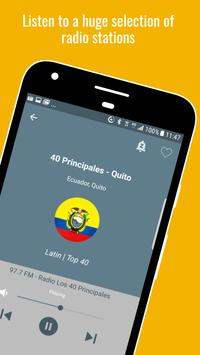 1 Schermata Ecuador Radio Stations