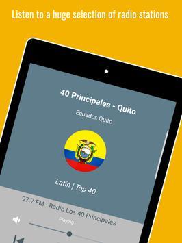 Ecuador Radio Stations स्क्रीनशॉट 8