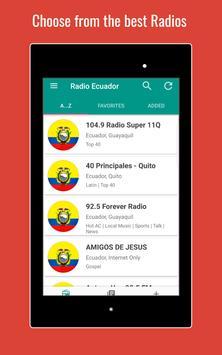 Ecuador Radio Stations स्क्रीनशॉट 9