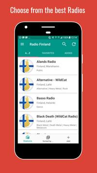 Finland Radio Stations poster