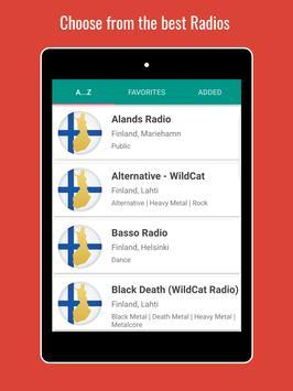 Finland Radio Stations screenshot 7
