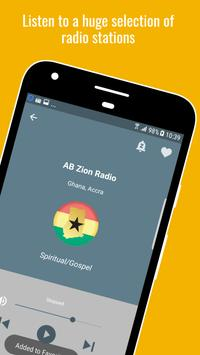 Radio Gospel Ghana PRO+ screenshot 3