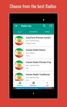 Radio Iran 🇮🇷📻 News and Music Live from Iran apk screenshot