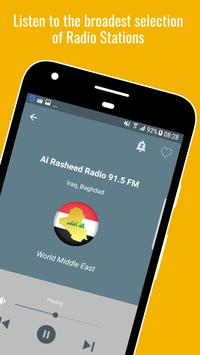 Radio Iraq 📻🇮🇶 Iraqi Music & News Radio apk screenshot
