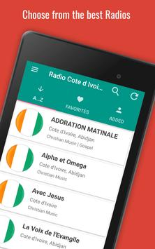 🇨🇮 📻 Cote d'Ivoire Radio Stations screenshot 14