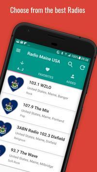📻 Maine Radio Stations 🇺🇸 poster