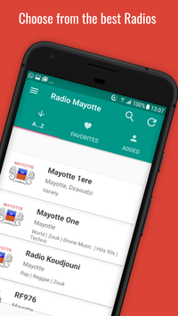 📻🇾🇹 Mayotte Radio Stations poster