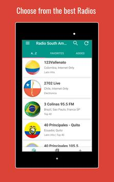 Radio South America 📻 apk screenshot