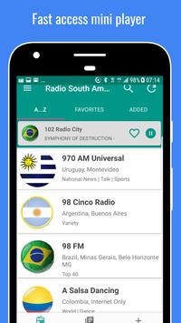 Radio South America screenshot 3