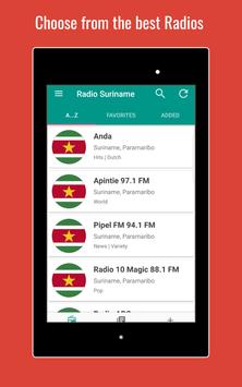 Radio Suriname screenshot 9