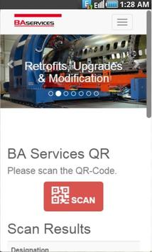 BA Services QR apk screenshot
