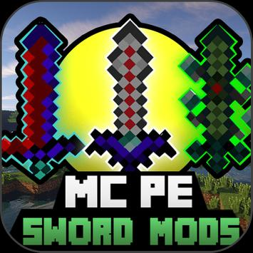 SWORD MOD For MineCraft PE poster
