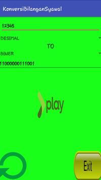 Konversi Bilangan Komputer screenshot 1