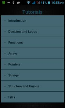Learn C screenshot 2