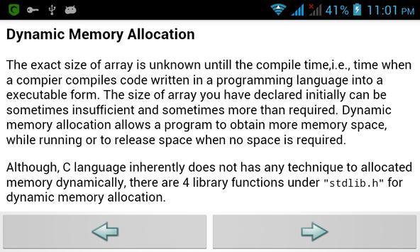 Learn C screenshot 4