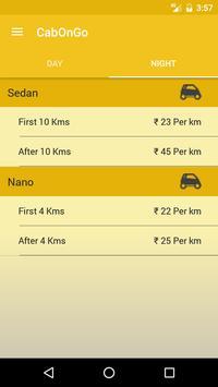 Cab on go screenshot 7