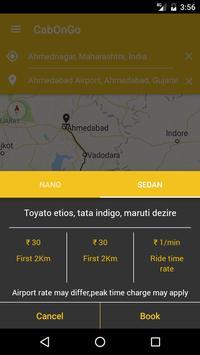 Cab on go screenshot 4