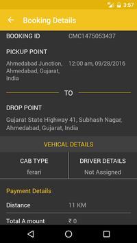 Cab on go screenshot 6