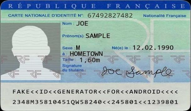 Fake Id Card Creator For Android Apk Download