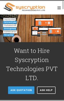 Syscryption Technologies screenshot 1