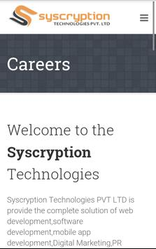 Syscryption Technologies screenshot 2
