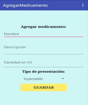 Calculador de dosis pediatrica apk screenshot