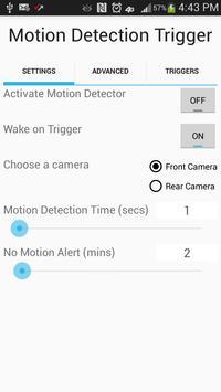 Camera Motion Trigger poster