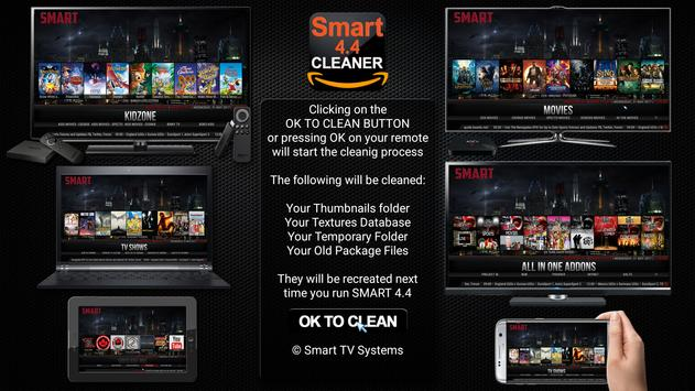Smart 4.4 Player Cleaner - NEW! poster