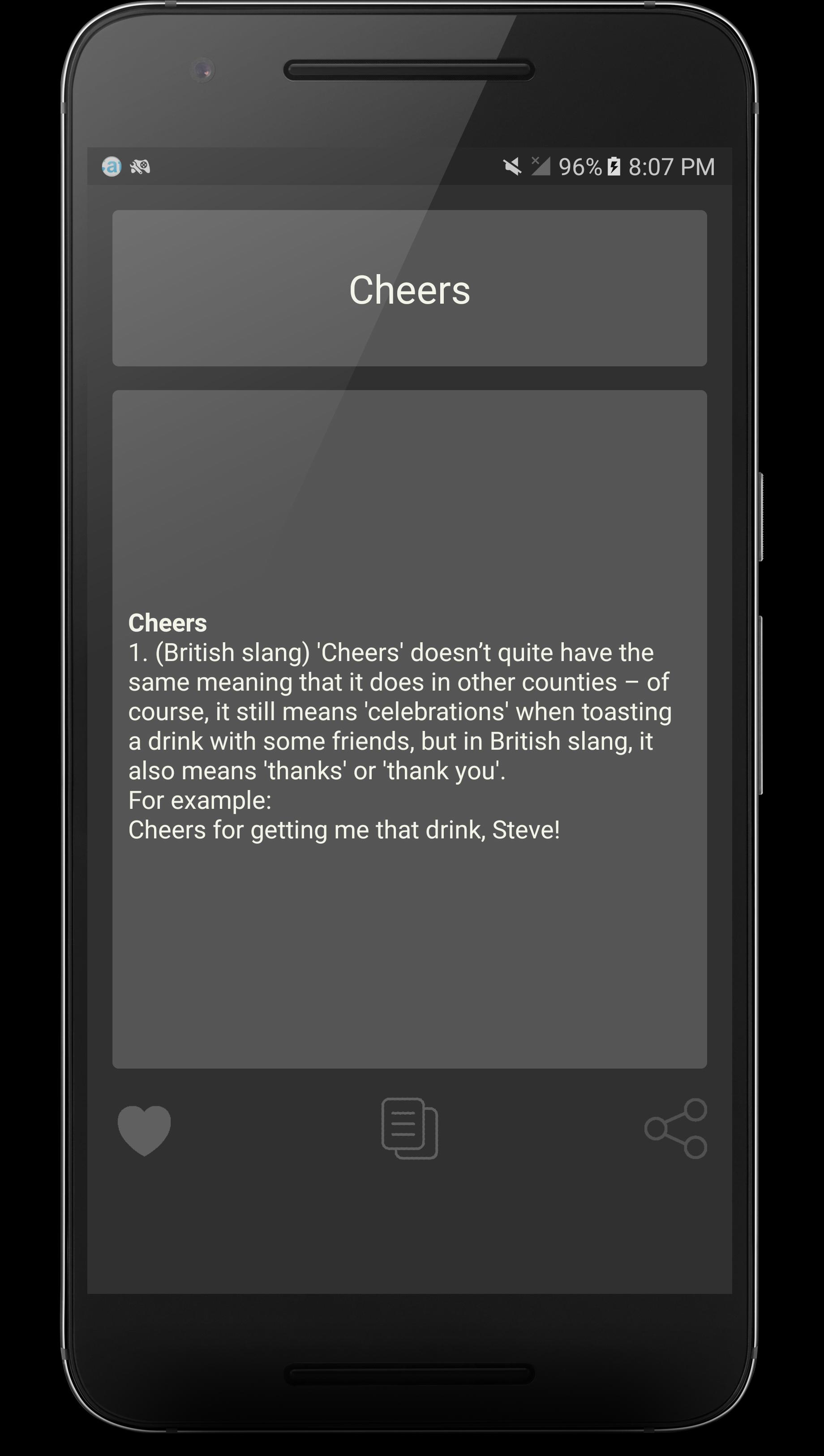 English Slang Dictionary for Android - APK Download