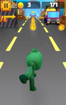 Gekko pj Runner Masks Dash World screenshot 3